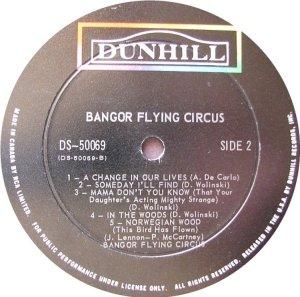 BANGOR FLYING CIRCUS 1969 D