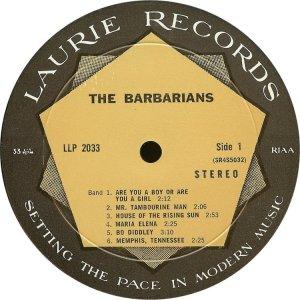 BARBARIANS 1966 C