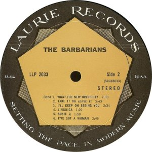BARBARIANS 1966 D