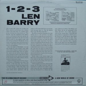 BARRY LEN 1965 B