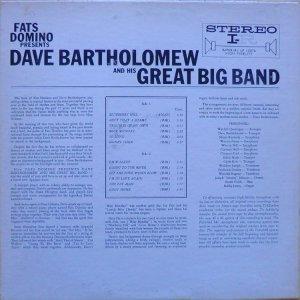 BARTHOLOMEW 1961 B