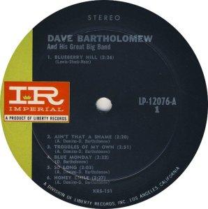 BARTHOLOMEW 1961 C
