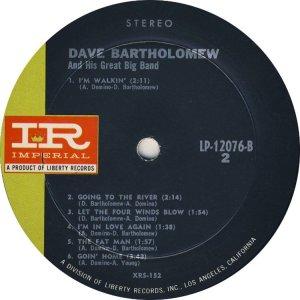 BARTHOLOMEW 1961 D