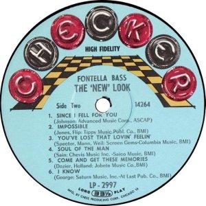 BASS FONTELLA 1966 D