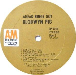BLODWYN PIG 1969 D