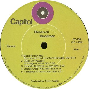 BLOODROCK 1970 C