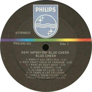 BLUE CHEER 1969 C