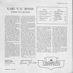 BONDS GARY 1961 B