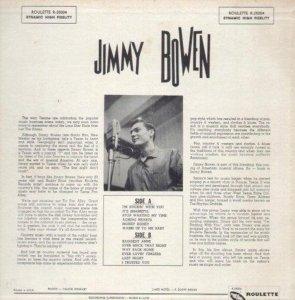 BOWEN JIMMY 1957 B