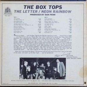 BOX TOPS 1967 B