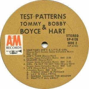 BOYCE HART 1967 D