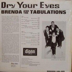 BRENDA TABULATIONS 1967 B
