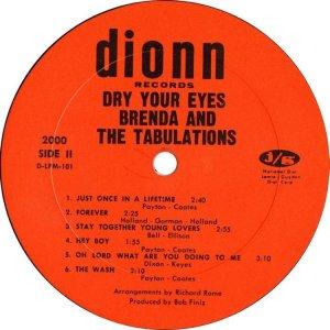 BRENDA TABULATIONS 1967 D