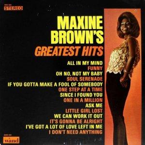 BROWN MAXINE 1967 A