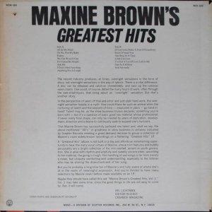 BROWN MAXINE 1967 B