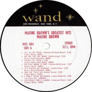 BROWN MAXINE 1967 C