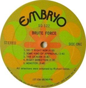 BRUTE FORCE 1970 C