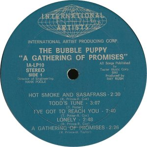 BUBBLE PUPPY 1969 C