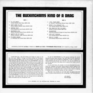 BUCKINGHAMS 1967 B