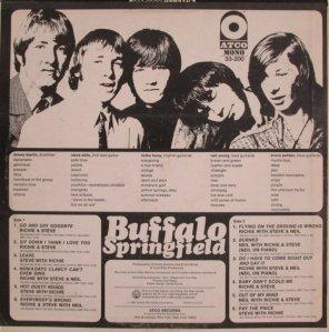BUFFALO SPRINGFIELD 1966 B