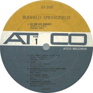 BUFFALO SPRINGFIELD 1966 C