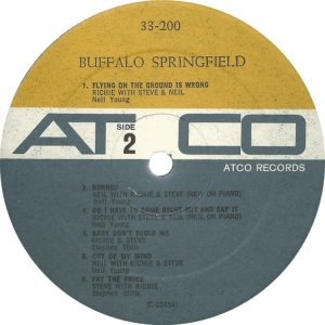 BUFFALO SPRINGFIELD 1966 D