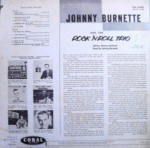 BURNETTE TRIO 1956 B