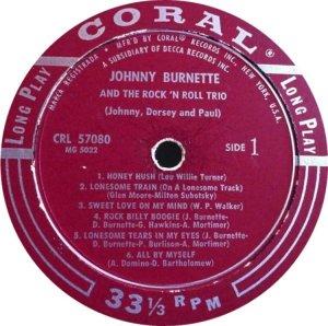 BURNETTE TRIO 1956 C