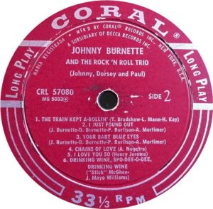BURNETTE TRIO 1956 D