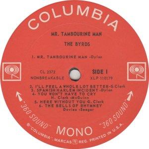 BYRDS 1965 B