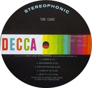 CAKE 1967 D
