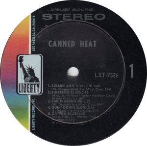 CANNED HEAT 1967 C