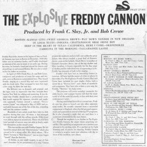 CANNON FREDDY 1959 B
