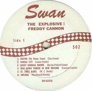 CANNON FREDDY 1959 C