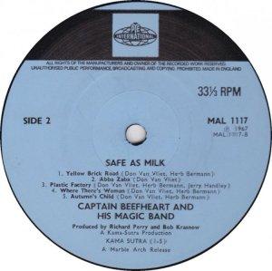 CAPTAIN BEEFHEART 1969 D
