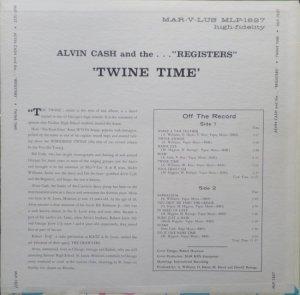 CASH ALVIN REGISTERS 1965 B