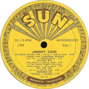 CASH JOHNNY 1956 C