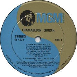 CHAMAELEON CHURCH 1968 C