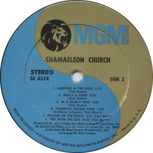 CHAMAELEON CHURCH 1968 D
