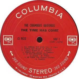 CHAMBERS BROTHERS 1967 C