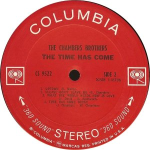CHAMBERS BROTHERS 1967 D