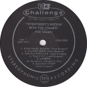 CHAMPS - 1959 C