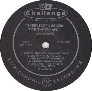 CHAMPS - 1959 D