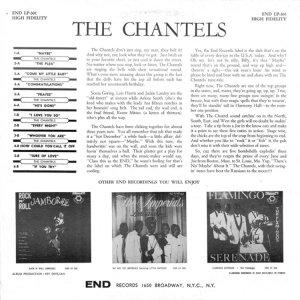 CHANTELS 1959 B