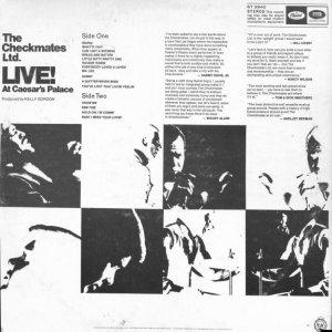 CHECKMATES LTD 1967 B