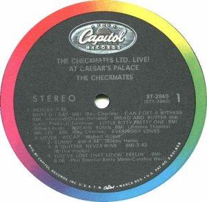 CHECKMATES LTD 1967 C