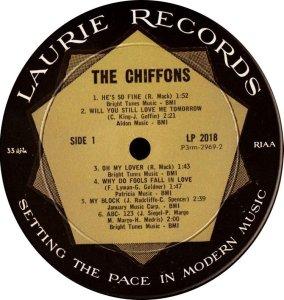 CHIFFONS 1963 C
