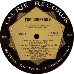 CHIFFONS 1963 D