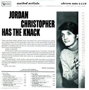CHRISTOPHER JORDAN 1966 B
