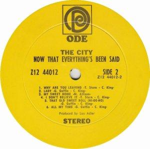 CITY 1968 D